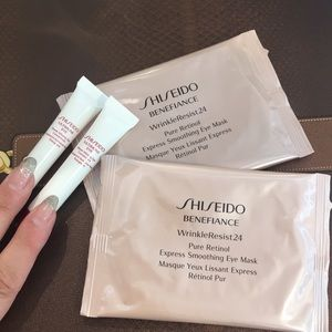 NEW Shiseido eye mask and Ultimune eye